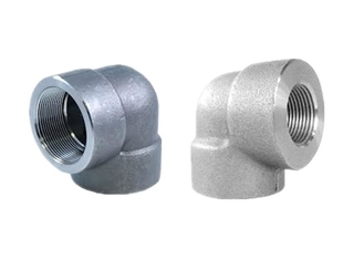 1 1/4 Inch BSPP Forged Pipe Fittings 90 Degree Threaded Elbow ASTM A182 F11